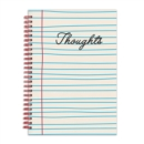 "Thoughts 6 x 8"" Wire-O Journal - Book"