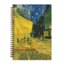 "Van Gogh Terrace at Night 7 x 10"" Wire-O Journal - Book"