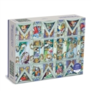 Sistine Chapel Ceiling Meowsterpiece of Western Art 2000 Piece Puzzle - Book