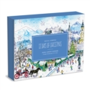 Michael Storrings 12 Days of Christmas Advent Puzzle Calendar - Book