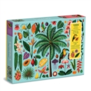 Tropics 1000 Piece Puzzle with Shaped Pieces - Book