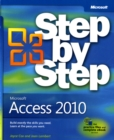 Microsoft Access 2010 Step by Step - Book
