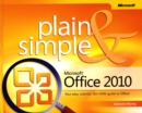 Microsoft Office 2010 Plain & Simple - Book