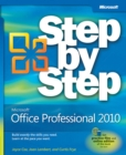 Microsoft(R) Office Professional 2010 Step by Step - eBook