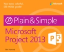 Microsoft Project 2013 Plain & Simple - eBook