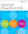 Microsoft PowerPoint 2016 Step by Step - Book