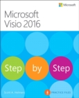 Microsoft Visio 2016 Step By Step - Book