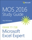 MOS 2016 Study Guide for Microsoft Excel Expert - Book