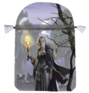 Witches Moon Satin Tarot Bag - Book