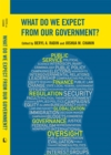 What Do We Expect from Our Government? - eBook