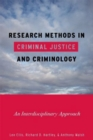 Research Methods in Criminal Justice and Criminology : An Interdisciplinary Approach - eBook