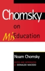 Chomsky on Mis-Education - eBook