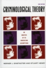 Criminological Theory : An Analysis of its Underlying Assumptions - eBook