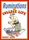 Ruminations on College Life - eBook