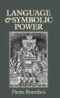 Language and Symbolic Power - Book