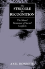 The Struggle for Recognition : The Moral Grammar of Social Conflicts - Book