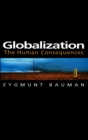 Globalization : The Human Consequences - Book