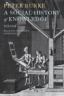A Social History of Knowledge II : From the Encyclopaedia to Wikipedia - Book