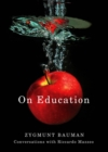 On Education : Conversations with Riccardo Mazzeo - eBook
