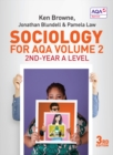 Sociology for AQA Volume 2 : 2nd-Year A Level - Book