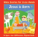 Jesus is Born : A Spot-the-Difference Jigsaw Book - Book