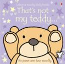 That's Not My Teddy - Book