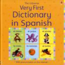 Usborne Very First Dictionary in Spanish - Book