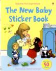 Usborne First Experiences The New Baby Sticker Book - Book