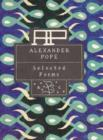 Alexander Pope: Selected Poems - Book
