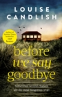 Before We Say Goodbye - eBook