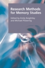 Research Methods for Memory Studies - Book