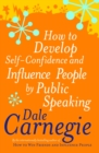 How To Develop Self-Confidence - Book