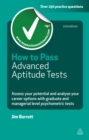 How to Pass Advanced Aptitude Tests : Assess Your Potential and Analyse Your Career Opti - eBook