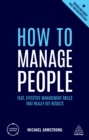 How to Manage People : Fast, Effective Management Skills that Really Get Results - eBook