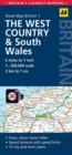West Country & Wales Road Map - Book