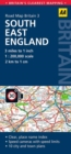 South East England Road Map - Book
