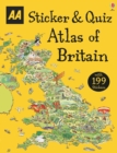 Sticker & Quiz Atlas of Britain - Book