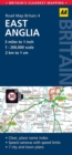 East Anglia Road Map - Book