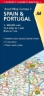 2. Spain & Portugal : AA Road Map Europe - Book
