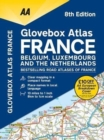 AA Glovebox Atlas France - Book