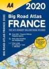 AA Big Road Atlas France 2020 - Book