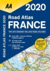 AA Road Atlas France 2020 - Book
