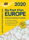 AA Big Road Atlas Europe 2020 - Book