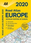AA Road Atlas Europe 2020 - Book