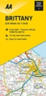 Road Map Brittany - Book