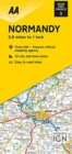 Road Map Normandy - Book