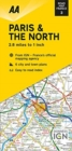 Road Map Paris & The North - Book