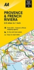 Road Map Provence & French Riviera - Book