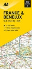 Road Map France & Benelux - Book