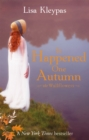 It Happened One Autumn : Number 2 in series - Book